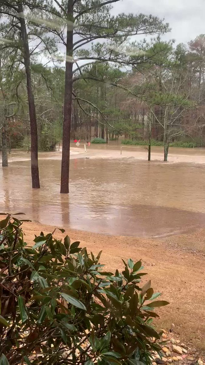 @spann Briarwood HS closing at 2 due to 119 flooding. Video via my sister