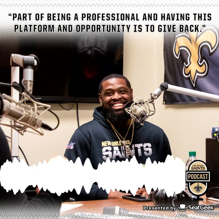2019 @Saints Man of the Year and WPMOY nominee @T_Armstead72 joins the show to talk about his time in Miami, the work hes doing in the community, and upcoming projects for the Terron Armstead Foundation. Web: neworlns.co/021020S iTunes: neworlns.co/021020SI @SeatGeek