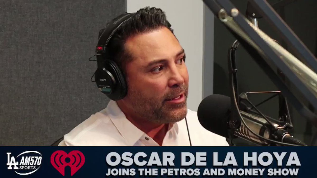 """.@OscarDeLaHoya issues a challenge to @FloydMayweather: """"You have your fighter @Gervontaa and I have my fighter @KingRyanG. Let's make this fight happen! If Ryan wins on the 14th, let's stage a fight.""""Full video: https://bit.ly/2vkYguz"""