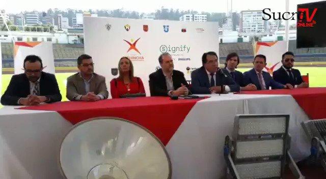 #VÍDEO▶️|  Eco. Jaime Ruiz presidente de CDP se refiere a la publicidad interna del estadio Atahualpa que le perteneció al #DeportivoQuito, ahora pasa a la institución que lo administra.  #LaFrecuenciaDeportiva
