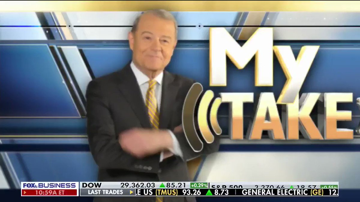 """STU: """"The Democrats really ought to get a reality check on the economy. They keep saying 'it's not working for everyone.' That's Elizabeth Warren's line. Or 'it's great for billionaires - not for working families.' That's Bernie Sanders."""" #Democrats #Trump2020 #MyTake #VarneyCo"""