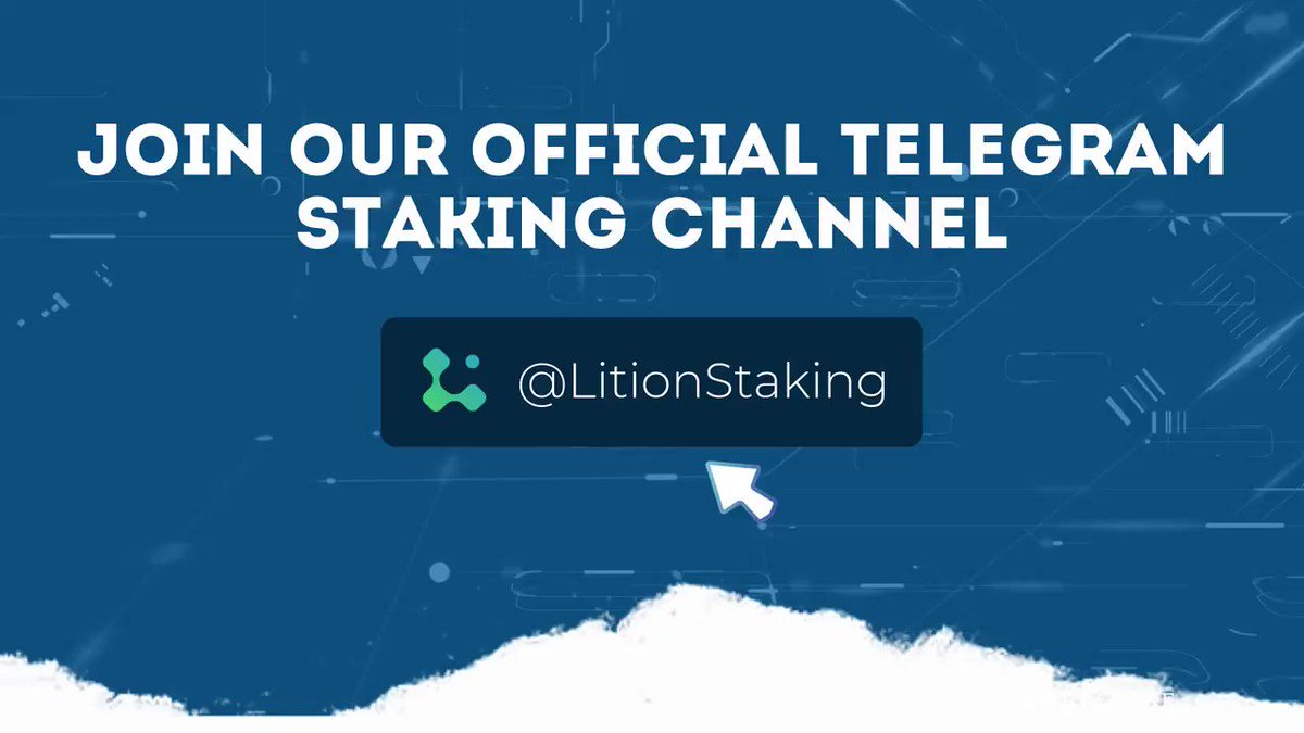 Image for the Tweet beginning: ⚙️ Lition Pool Staking (LPS)