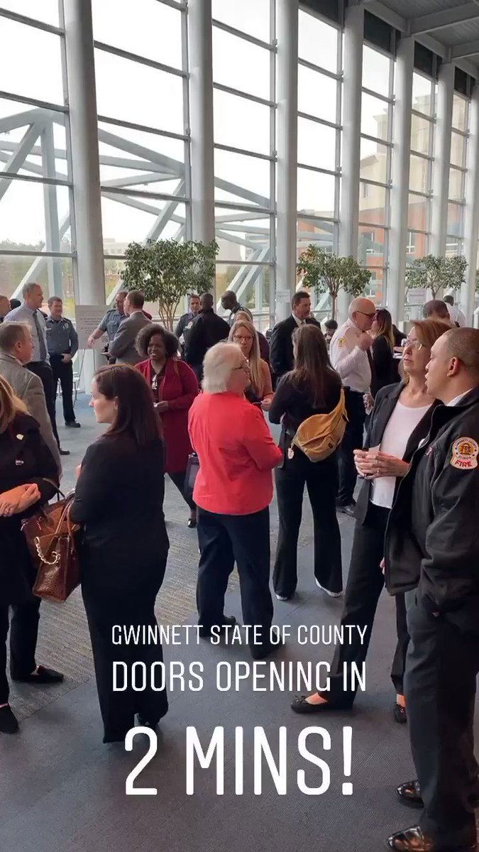 Come see us today at the Gwinnett State of the County! @GwinnettGov @GwinnettChamber