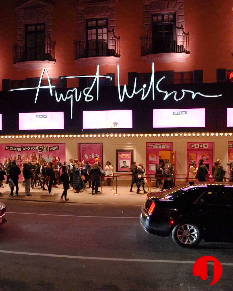 On Wednesdays, we visit the August Wilson Theatre, current home of @MeanGirlsBway!
