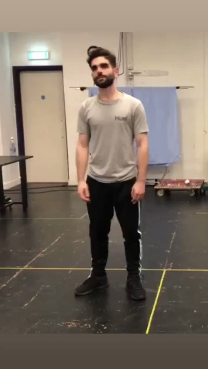 Rehearsals going well yeah cheers 👍 @Unicorn_Theatre