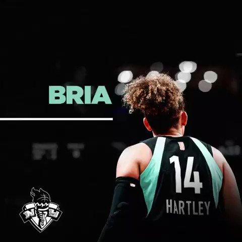 #WNBA @nyliberty  @Netsbrasil  Thanks for everything Bria Hartley! Obrigado por tudo @Breezyyy14 !
