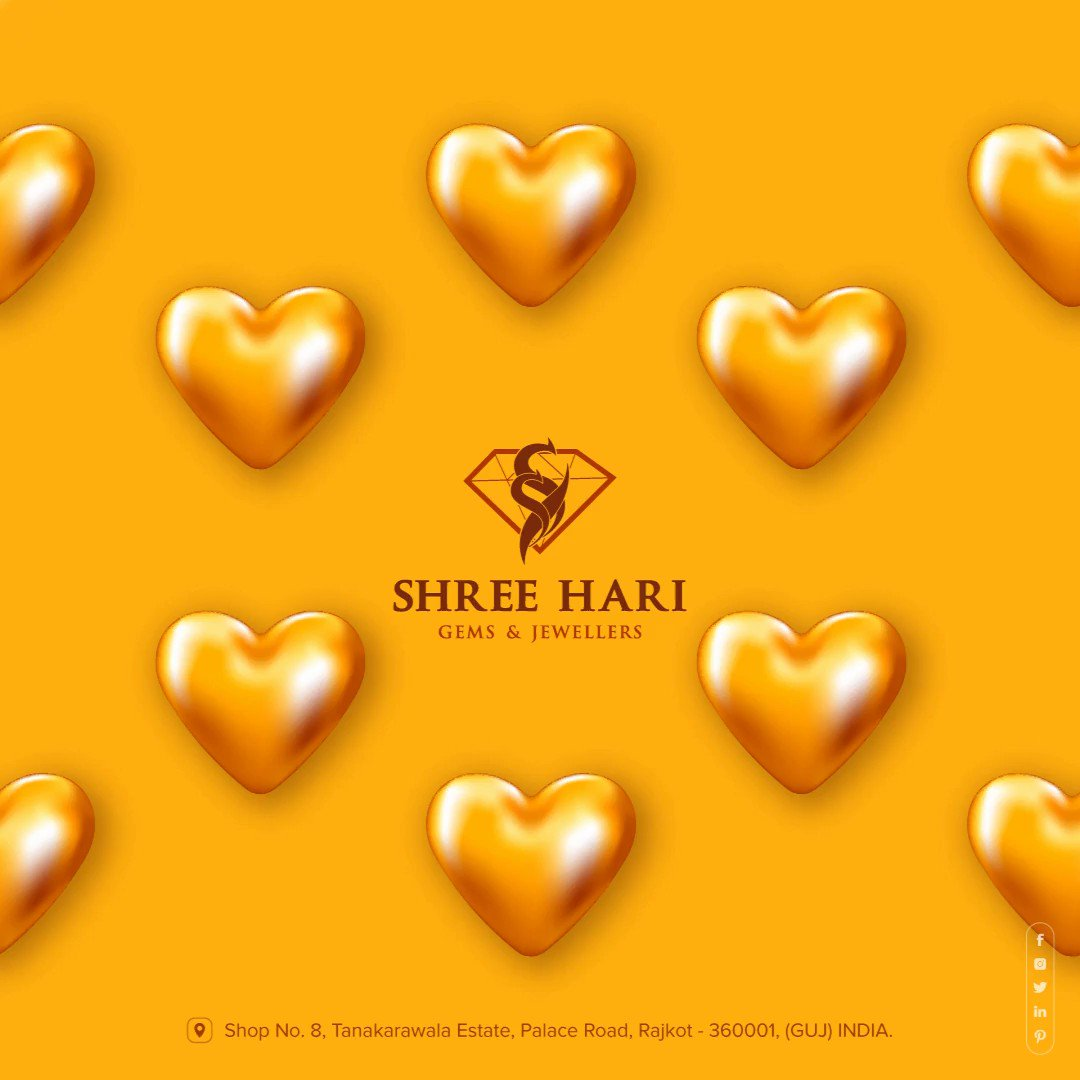 Happy Valentine's Day, Spread Some Love for your Heart. . . . #ValentinesDay #Valentines #Love #ShreeHari #ShreeHariJewellers #Jewellers #Collection #Gold #Silver #JewelryArt #GoldJewellery #Jewellery #Fashion #Gold #Bracelet #Jewels #Style #Accessories #Love #Ring #Wedding