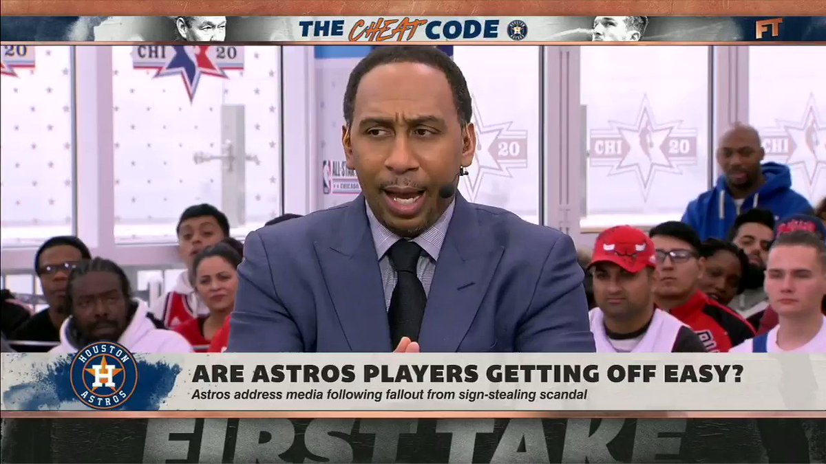 @FirstTake's photo on The Astros