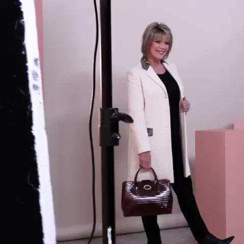 Look of the week on tonight's @qvcuk show is this @helene_berman_london coat See you at 8pm #qvcuk #ruthlangsfordfashion