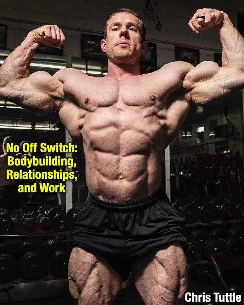 Image for the Tweet beginning: Bodybuilding is, and always will