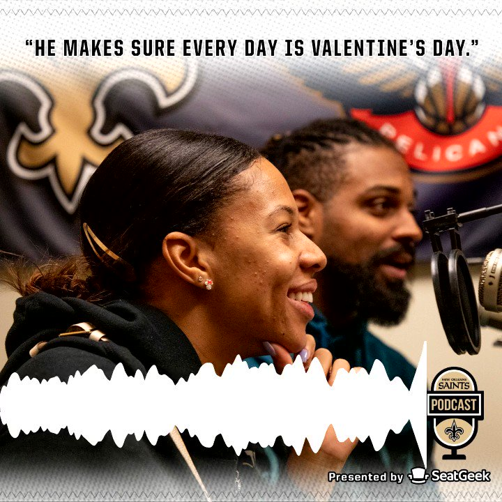 Its a Valentines Day edition with Cam & Nikki Jordan on todays show. The two talk about how they met, what game day looks like for each of them, and much more. Web: neworlns.co/021420S iTunes: neworlns.co/021420SI via: @SeatGeek @camjordan94
