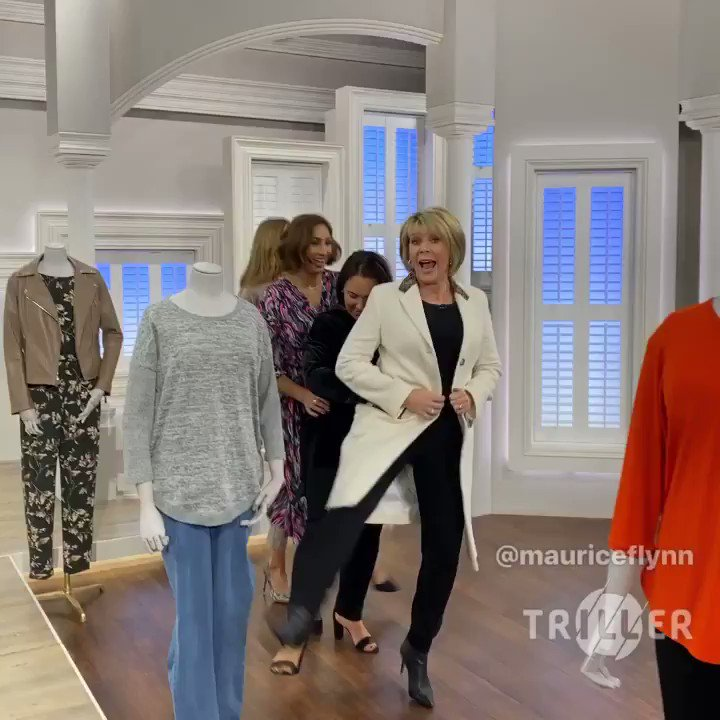 Have to have a little dance with my girls before I go home! Thanks for another fun night @curvemodelclare @jerrychaplinlondon @maxarellaphotography and thank you @mauriceflynn for the choreography ideas!! 💃 @qvcuk #ruthlangsfordfashionedit