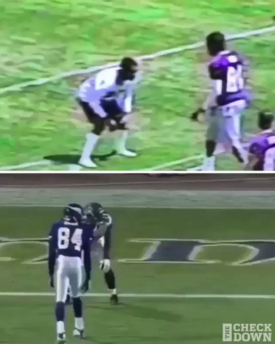 Randy Moss played like he practiced.   Happy birthday to a legend  (top via receiveradacademy/IG)