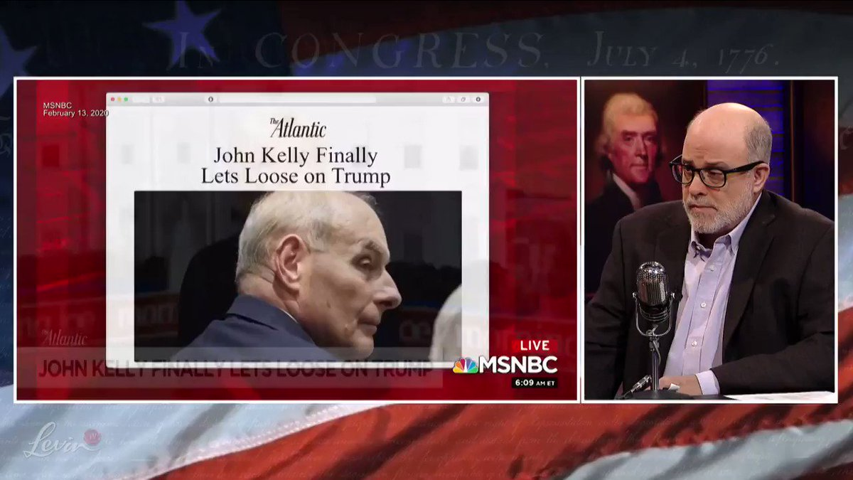 @LevinTV's photo on john kelly