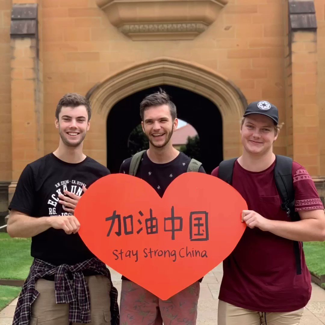 ❤️ Today we're sending love and good wishes to our students and friends in China.  加油中国, 我们心在一起 (jia you Zhong Guo, wo men xin zai yi qi) Stay strong China. Our hearts together. 💪❤️
