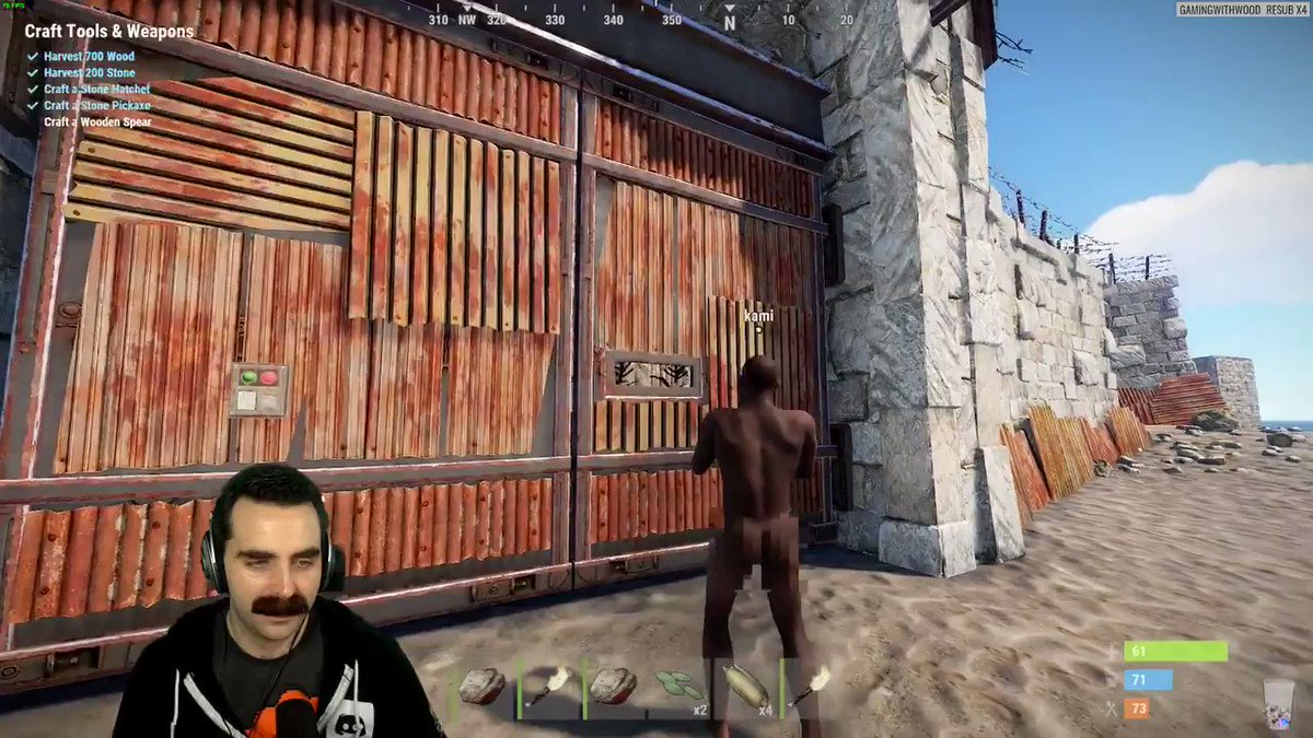 Diving back into rust a little bit last night was fun, the game hasn't changed a bit.