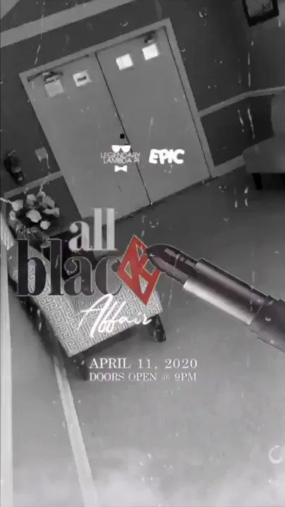 Should we throw a stage in there or nah? 🤔 #AllBlackAffair 🖤🌹#WeKnowHowToParty 🔥