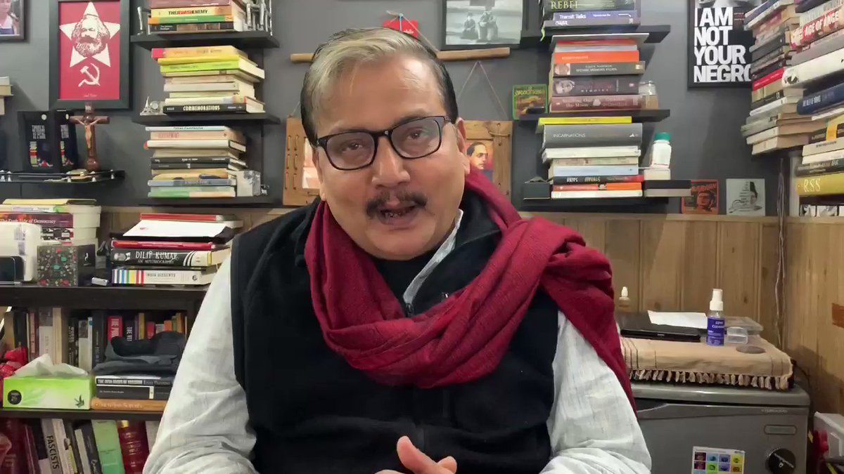 WATCH: Grateful for 'permission' to land in Kashmir, will you also permit us to meet former CMs who are under detention. There's no point landing there and talking to Chinar trees: RJD MP @manojkjhadu