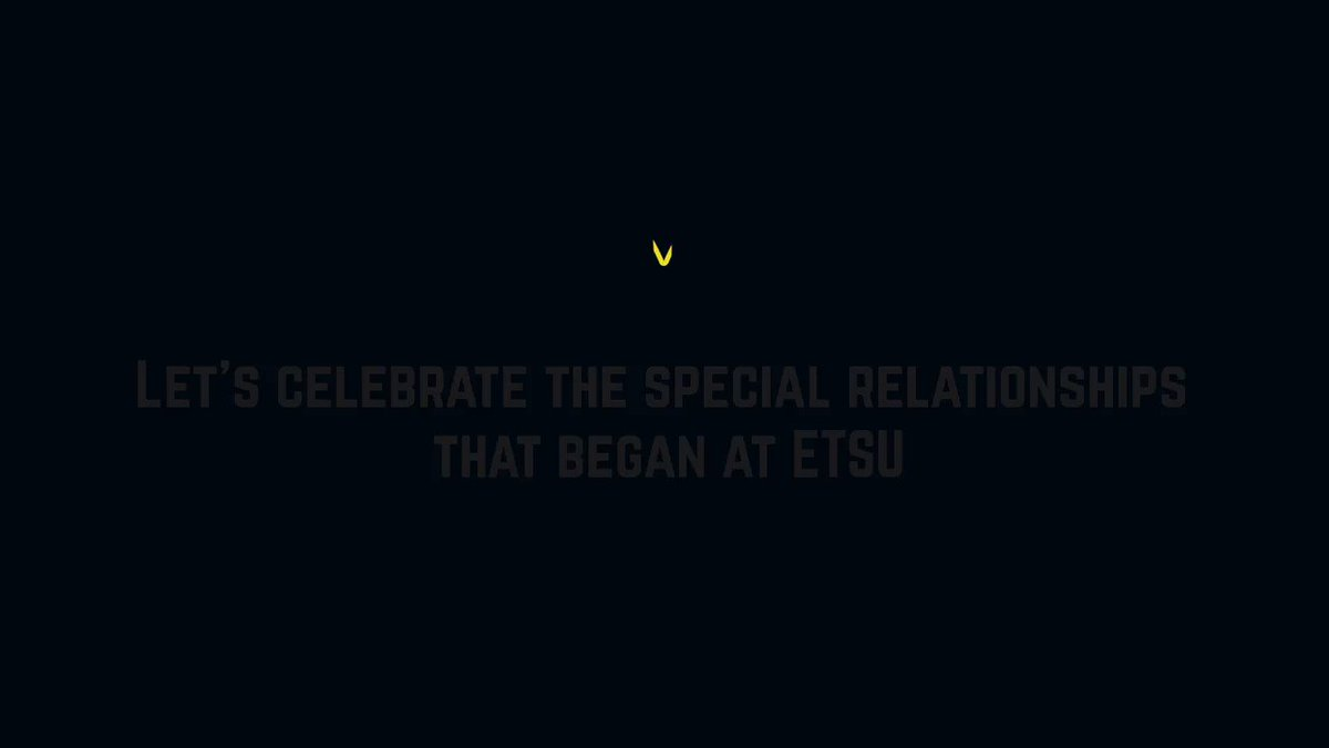 Let's celebrate the special relationships that began at #ETSU! Share your story with us!💙💛#Valentines2020