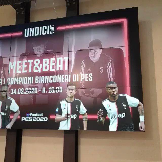 Qui UNDICI Shot, Flagship Store di Milano! Siete pronti a sfidare il Team Juventus di eSports?  Il Meet&Beat inizia fra poco! Non mancate 🎮⚪️⚫️⚽️