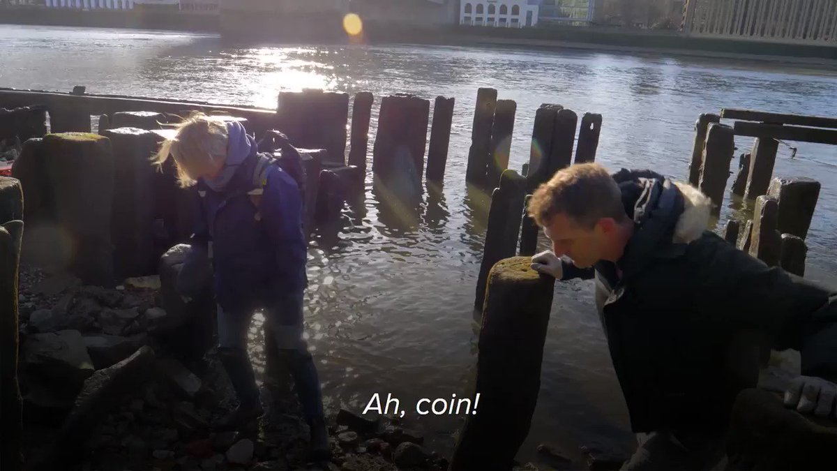 It's official. I've caught the mudlarking bug! Tune into our latest @HistoryHit documentary, featuring the wonderful @LondonMudlark, as we search the banks of the Thames for artefacts. Subscribe today with code 'twitter' and get 6 weeks free 👉