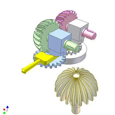 Semi-Spherical Gears
