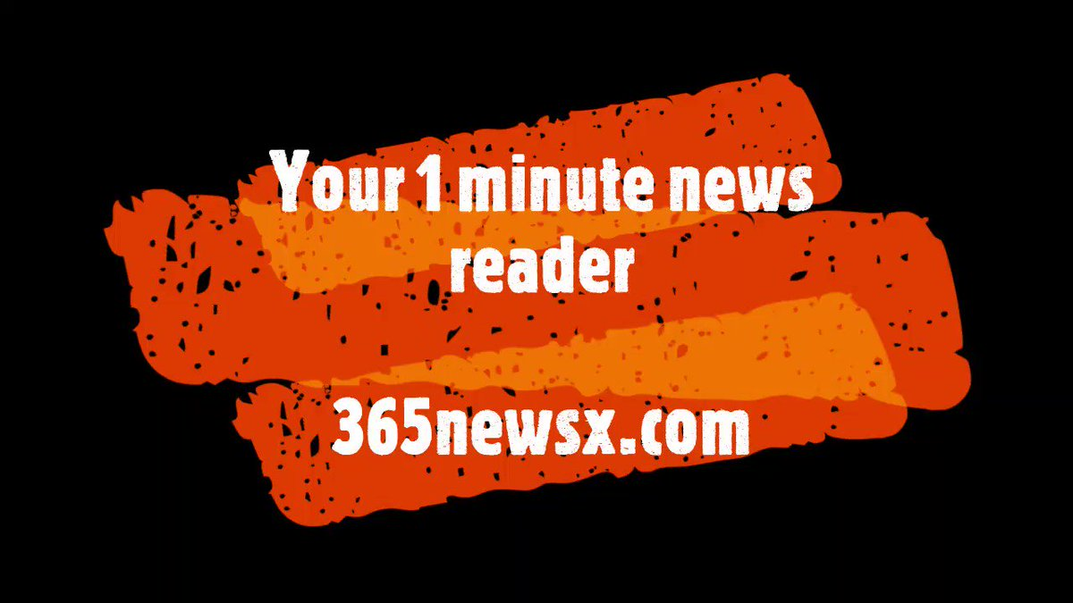 your one minute #news  #reader . #savetime  #video  #promotion  #startup  #website  #launch  #earnmoney  #InvestInYou  #365newsx  #Zerotouch