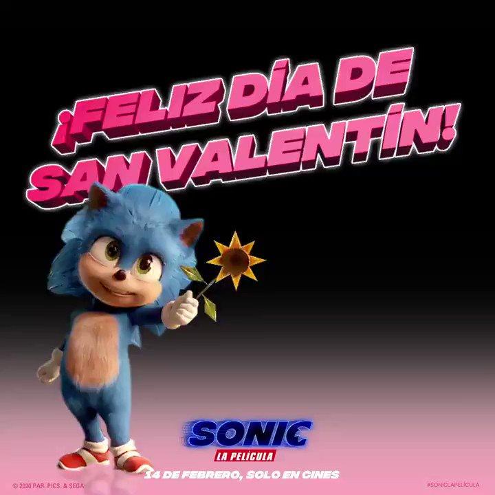 Disfruta HOY de #SonicMovie en Cinemas Procinal. #FelizSanValentin