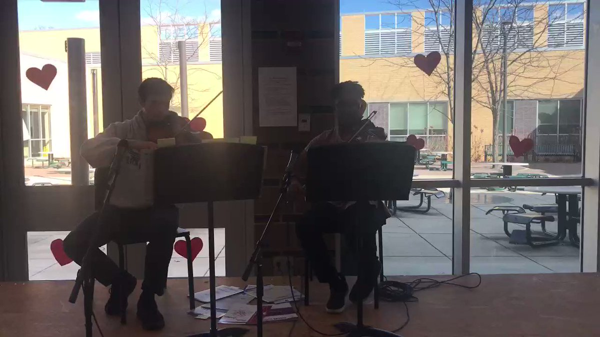 Ethan and Reese playing some beautiful music for Valentine's Day.❤️<a target='_blank' href='http://search.twitter.com/search?q=APSisAwesome'><a target='_blank' href='https://twitter.com/hashtag/APSisAwesome?src=hash'>#APSisAwesome</a></a> <a target='_blank' href='http://twitter.com/wakefieldchief'>@wakefieldchief</a> <a target='_blank' href='https://t.co/Kql6j7SF0Y'>https://t.co/Kql6j7SF0Y</a>