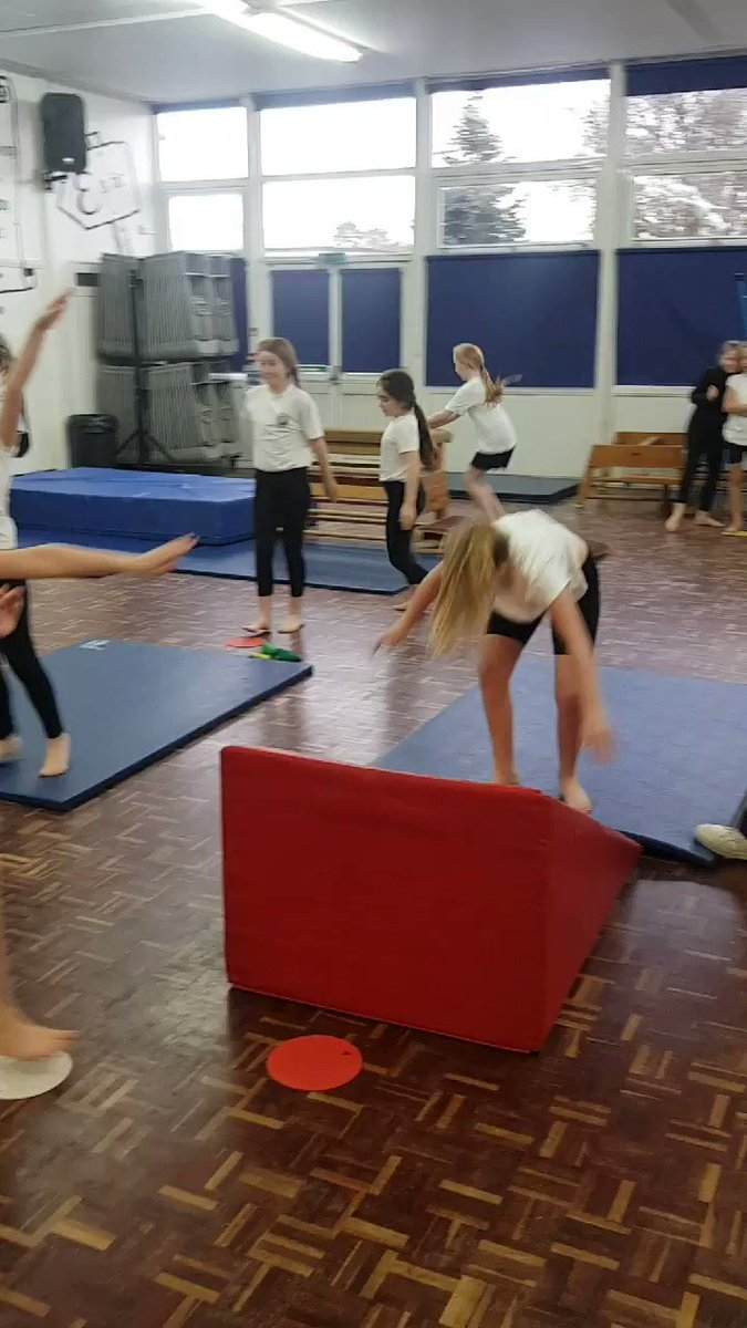 Image for the Tweet beginning: Y5 enjoyed their gymnastics session