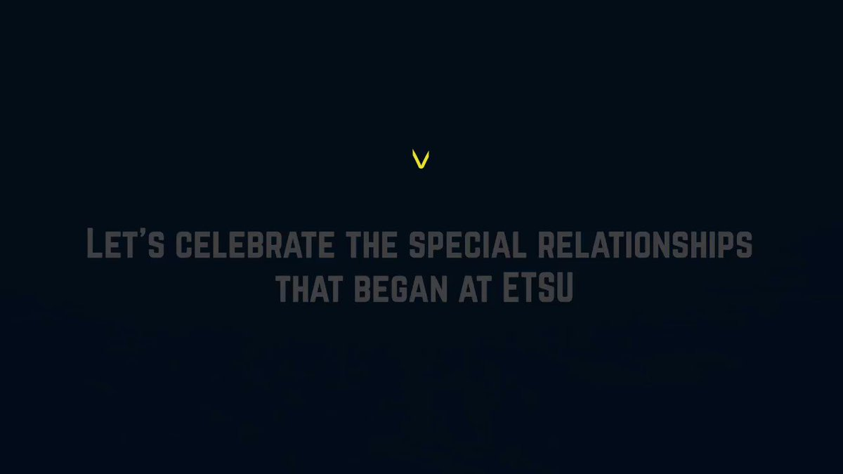 Tell us how you met your #ETSU person! 💙💛