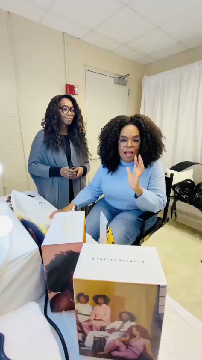 Dallas, I'm here with the WW 2020 Vision Tour and I'll be bringing sista @TraceeEllisRoss tomorrow Saturday 2/15! I'm here prepping with @PatternBeauty, so all you have to do is bring your girlfriends because it's gonna be a party 💃🏾🕺🏾#Oprahs2020VisionTour