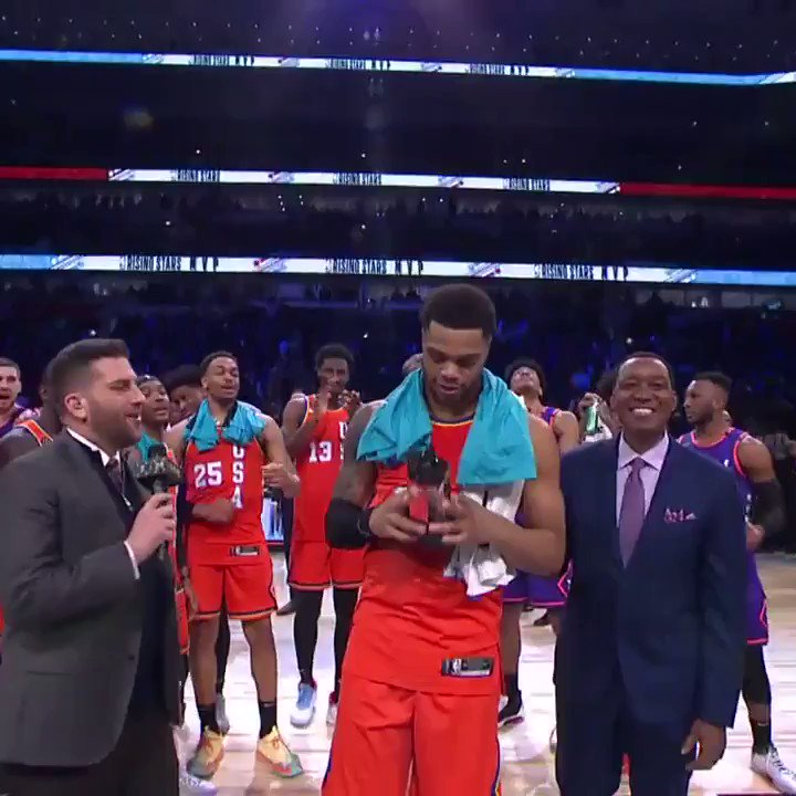 Miles Bridges wins the 2020 Rising Stars MVP  20 PTS, 5 REB, 5 AST