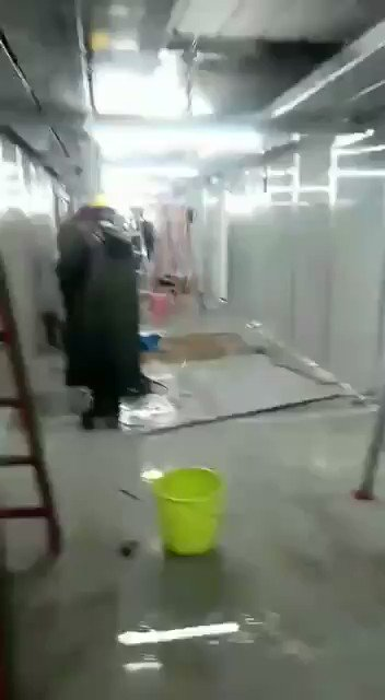 the 7days bulit propaganda hospital in #wuhan shows its true color now. after all its Made in Chian by Chinese Gov  #WuhanCoronavirus  #coronavirus  #CoVid2019   https://t.co/Ali2mrszUe
