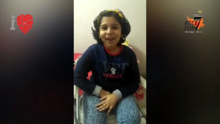 Debosmita, a brave warrior who fights with RD,(SMA) every day is also been blessed with an extremely rare chirpy smile #Racefor7 #hope#