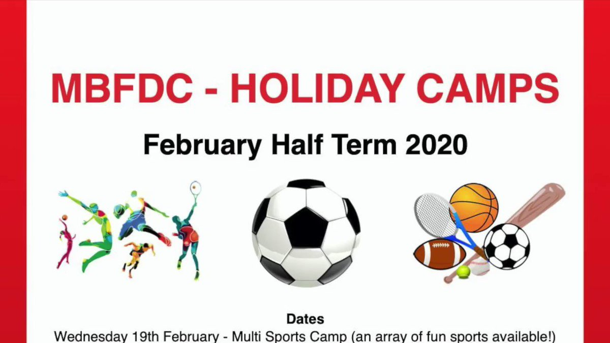 Why not join one of our Football Development Centre half-term camps. Contact klawrence@mountsbay.org https://t.co/5wj33lLQaz @mbdfc @MountsBayFDC