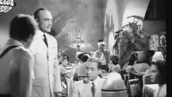 Sound on! Are you ready?! TONIGHT, Prime Time on @tcm , CASABLANCA-1942. See my father stand up to Major Strasser! What a great Saturday night film#31DaysOfOscar #TCMParty #TCM #LetsMovie @CelebratingTCM #SaturdayMotivationpic.twitter.com/ddW5gopqtD