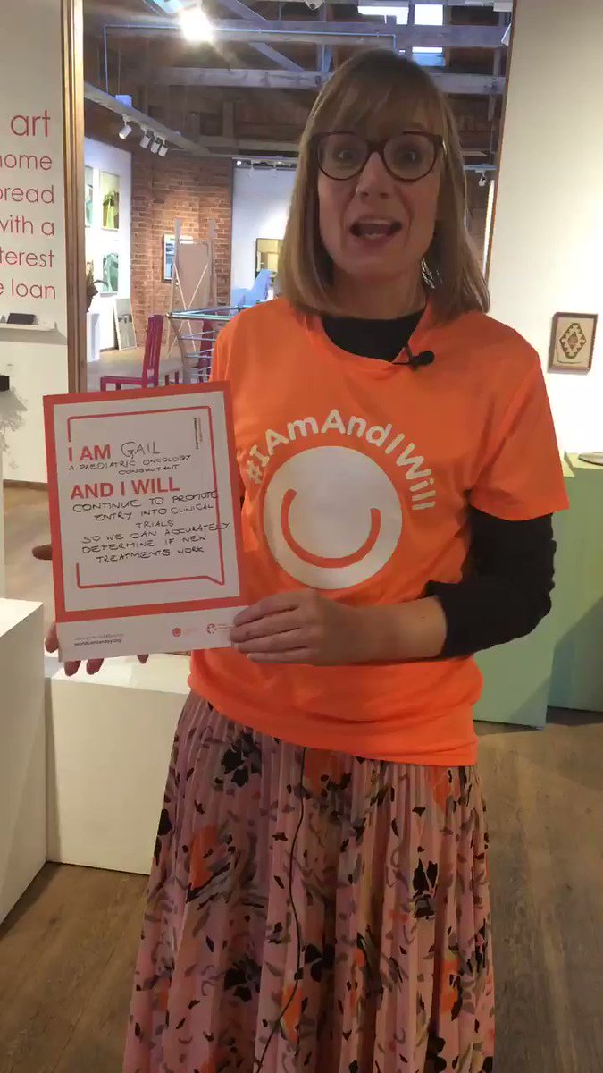 Here's another pledge from Dr Gail Halliday - made on World Cancer Day but in recognition that today is International Childhood Cancer Day. Dr Halliday does an amazing job treating children with cancer at the @GreatNorthCH