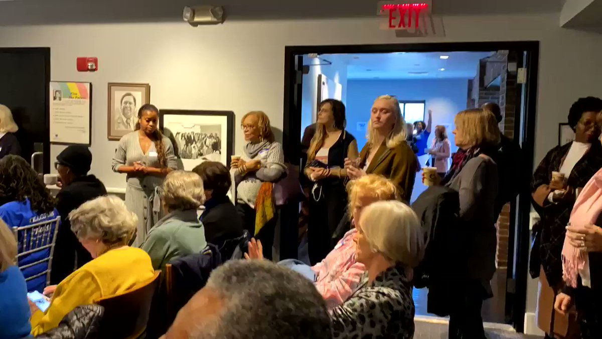 Happening Now: Coffee & Campaigning We have a packed house ready to turn Georgia blue. #SendPerduePacking