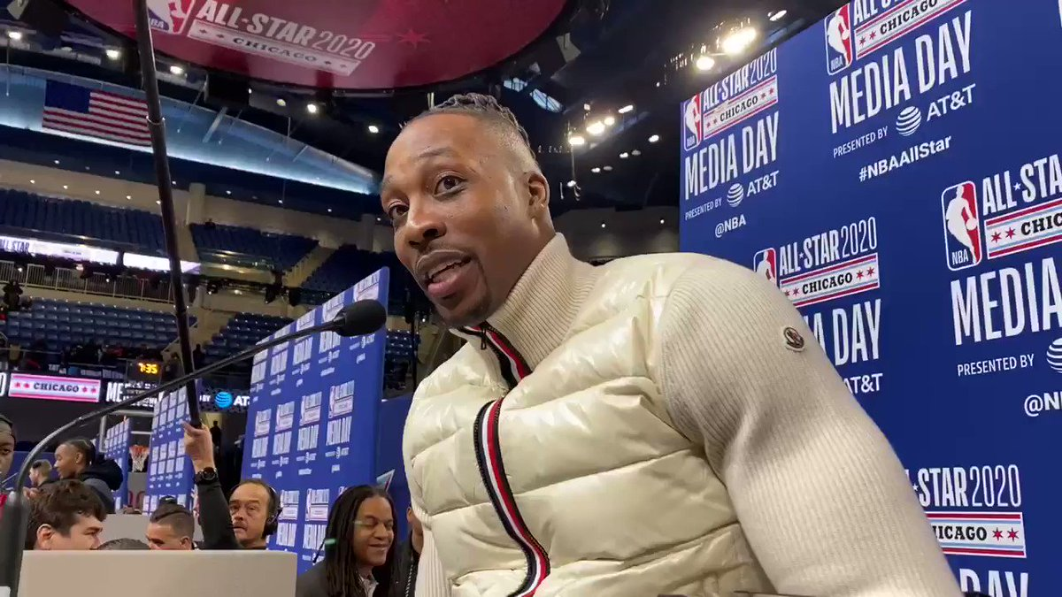 Dwight Howard discusses 'cherishing' experience in dunk contest