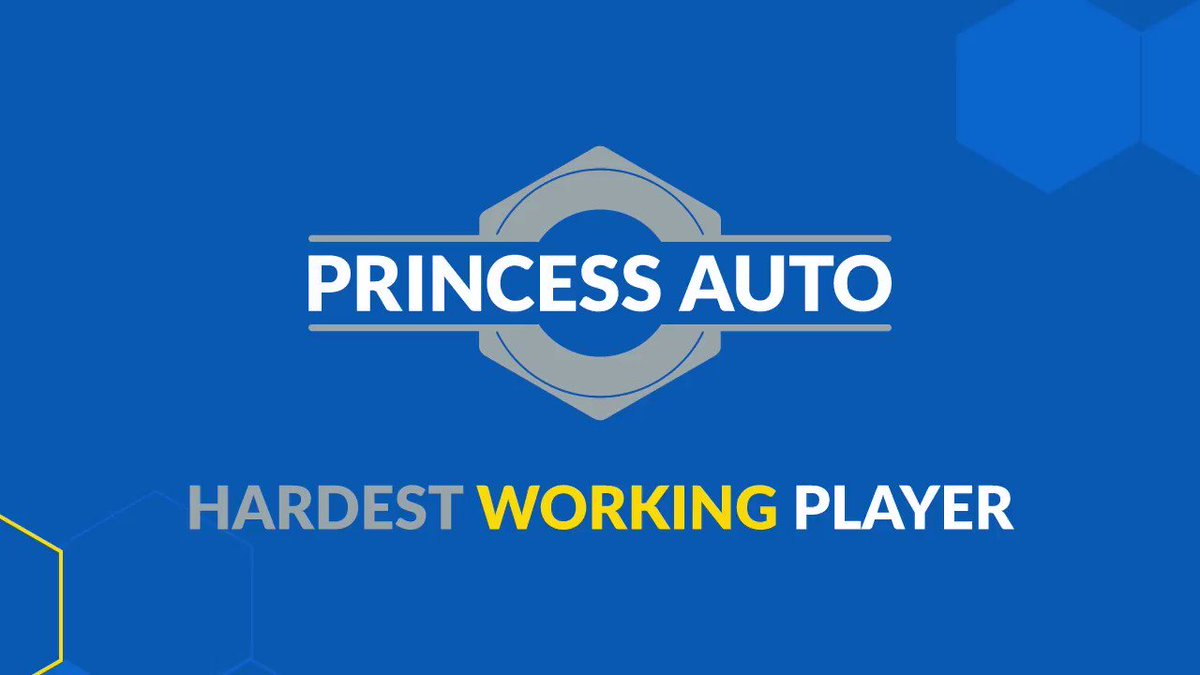 Princess Auto is pleased to name Duncan Pierce the Hardest Working Player of the Game from Friday night against the Saskatoon Blades! Visit @princessauto for all of your tool and equipment needs! Princess Auto - Make it Work #bdnmb pic.twitter.com/ZWAdRGAkdI