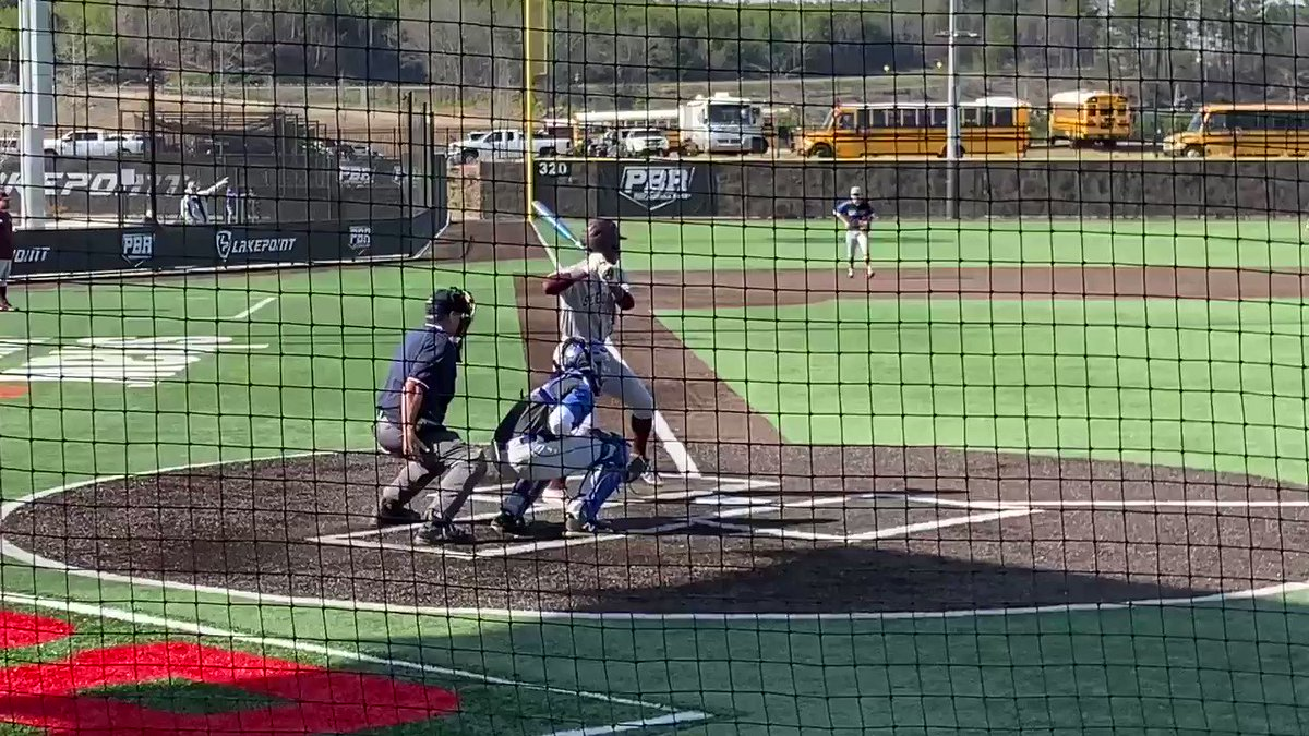 Justin Thomas has had a solid #GDC at the plate for @BCbaseball1902. The '22 keeps a flat bat through the zone and shows athleticism all over the field. Shoots and single back up the middle ⬇️⬇️⬇️ – at LakePoint Sporting Community