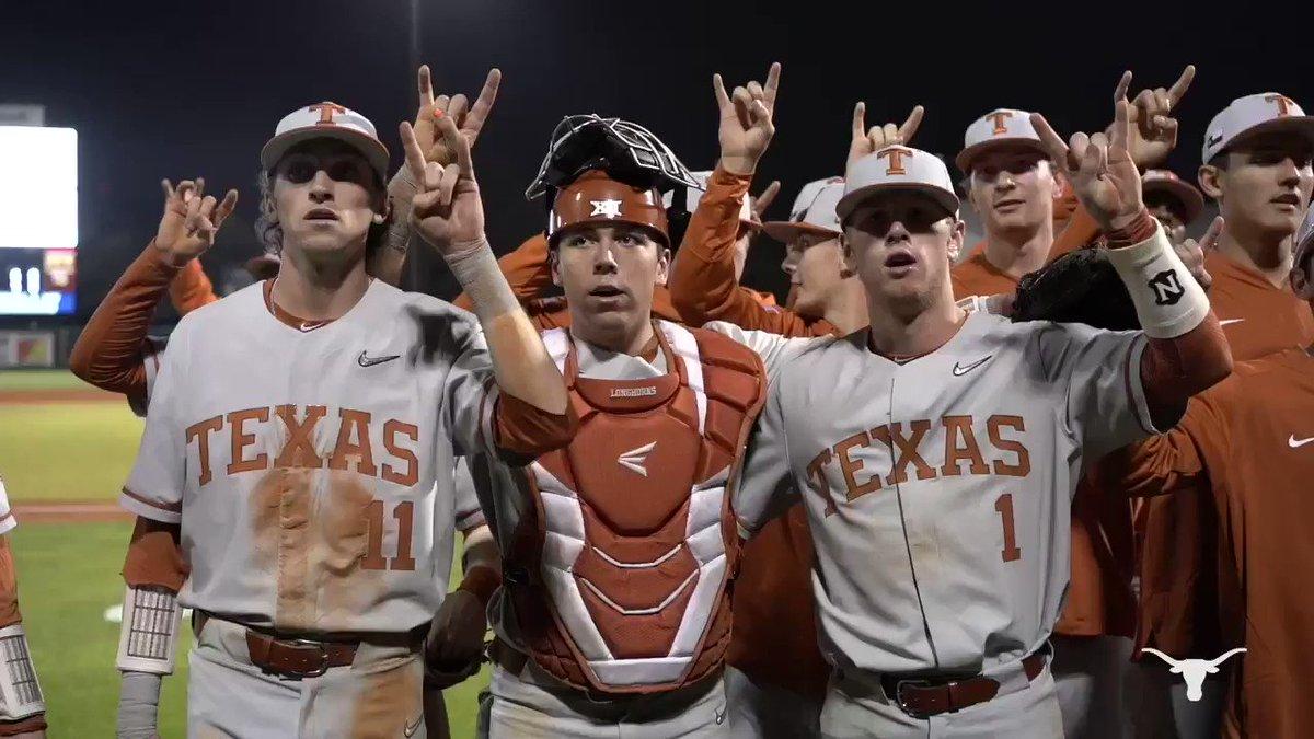 2 game = 2 wins. Let's GOOO @TexasBaseball 🤘