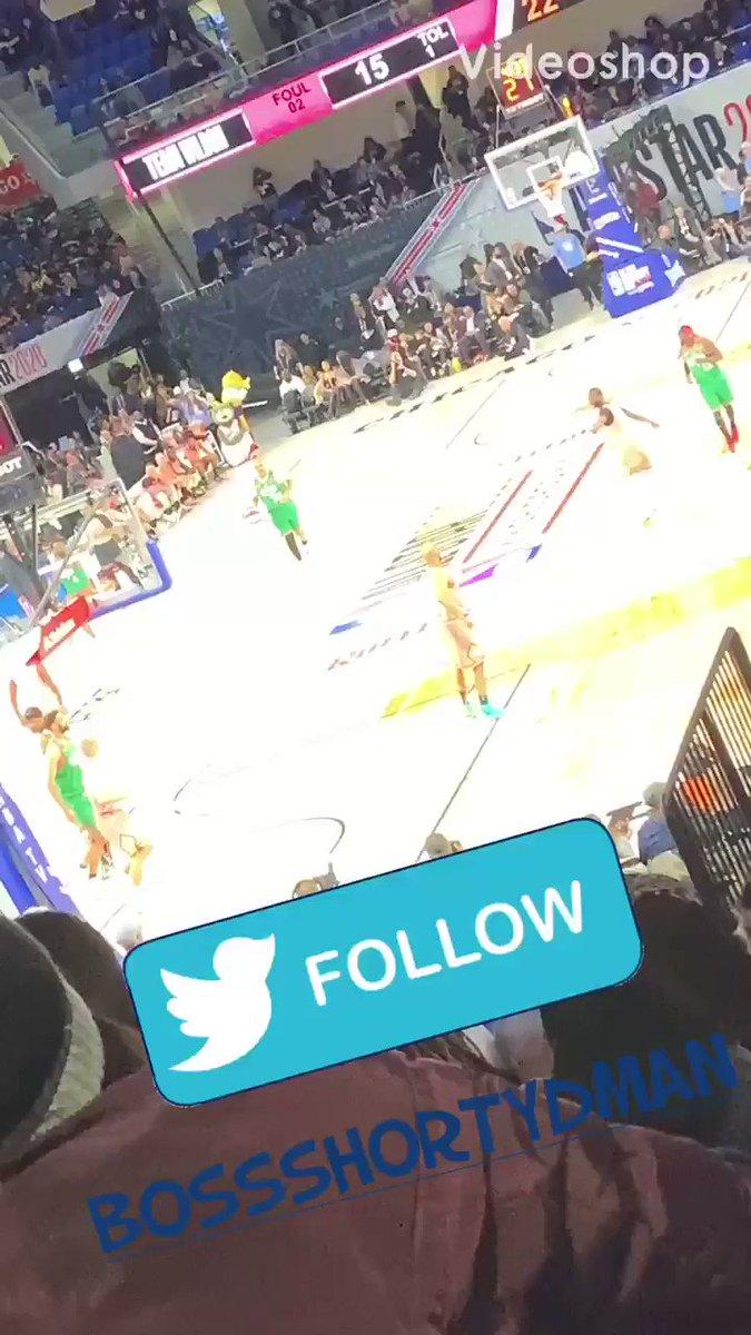S/O Ronnie Getting Buckets NBA Allstar Weekend Chicago 2020 #NBAAllStarWeekend #Ronnie2k #CelebrityGame