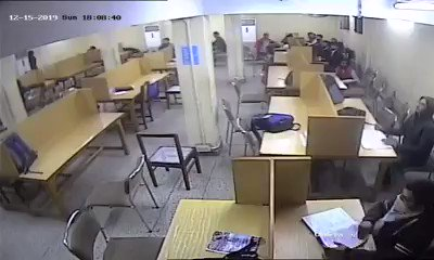 CCTV Footage of Delhi Police officers attacking and brutalizing students within their class rooms at Jamia Millia Islamia Library.The government is unleashing every violent act imaginable to crush those protesting India's anti-Muslim citizenship laws.