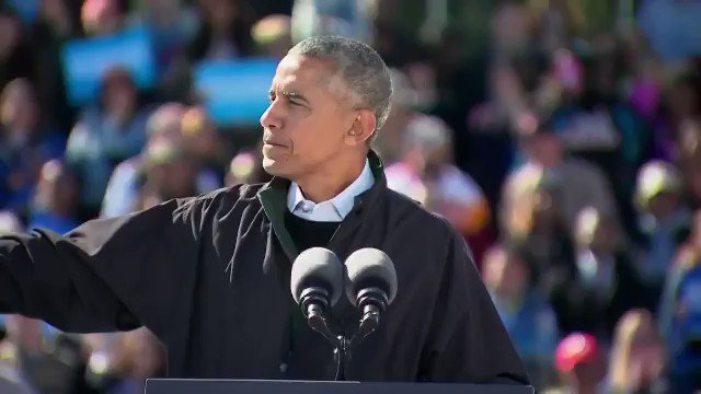 This awesome clip of Obama sticking it to Trump needs to be retweeted 'til the end of time!