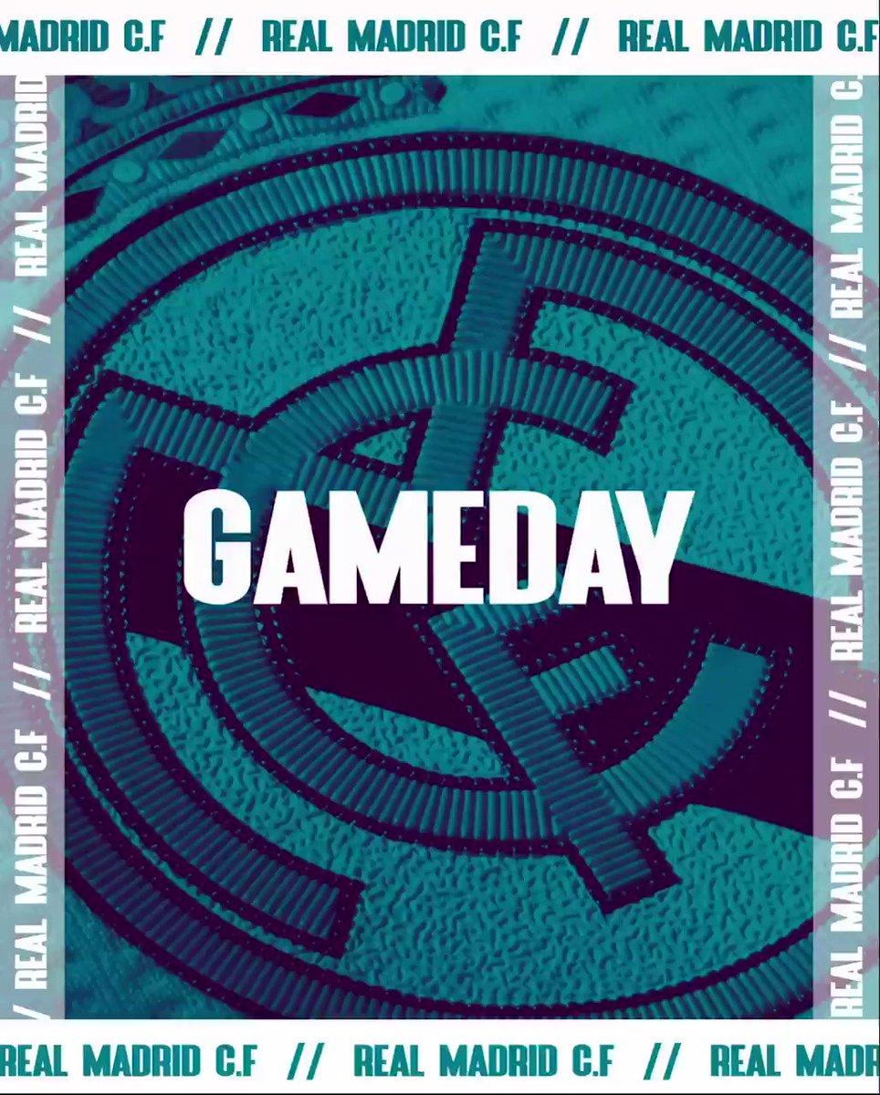 Gameday ⚽️⚔️🔥 ¡ Hala Madrid y Nada Más ! #RMLiga #Nueve #RealMadridCelta