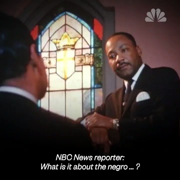 The Reverend Dr. Martin Luther King, Jr brilliantly explains white privilege.  A must listen for all, particularly those who deny its existence. #BlackHistoryMonth /16