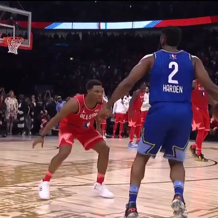 Kyle Lowry's block and the reactions
