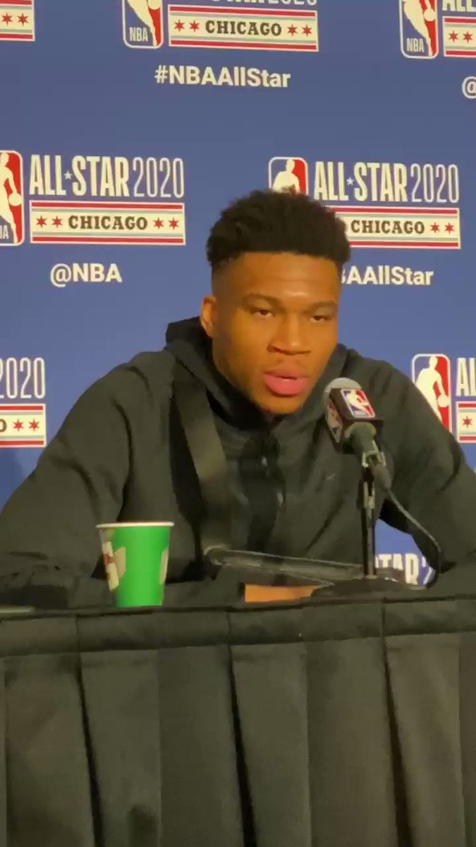 Giannis said his team's strategy late in the game was to go at whoever James Harden was guarding.  The disrespect 🤣  (via @BenGolliver)